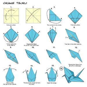 Crane folding instructions