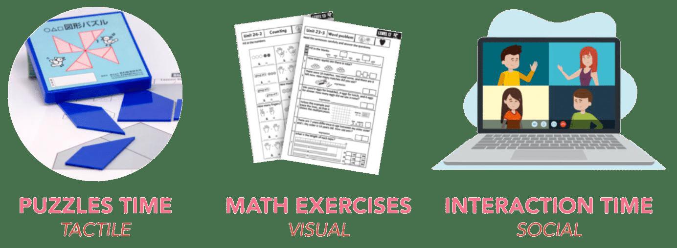 math lesson book a free trial Izumi Online math class