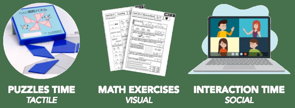 Izumi Math Class white