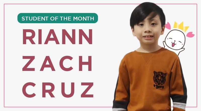 Izumi Student Of The Month Dec Izumi math class