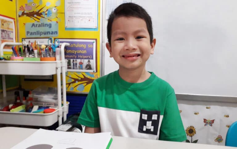 Gavin Izumi January Student of the Month
