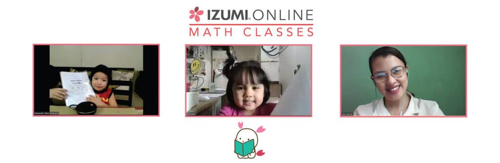 learning math online with Izumi