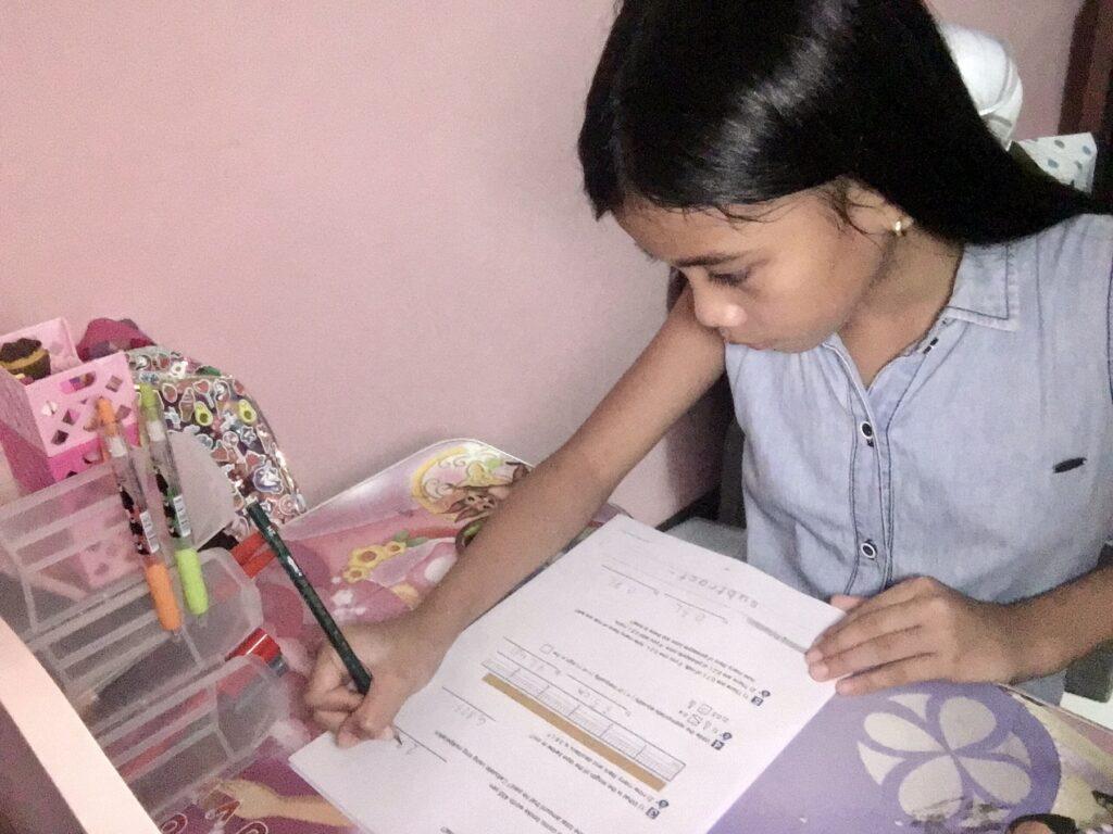 Jaina Lacuesta in Izumi Online learning